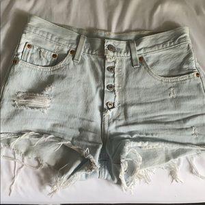 Levi Strauss Denim Shorts